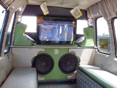 Angkot Sound System with TV