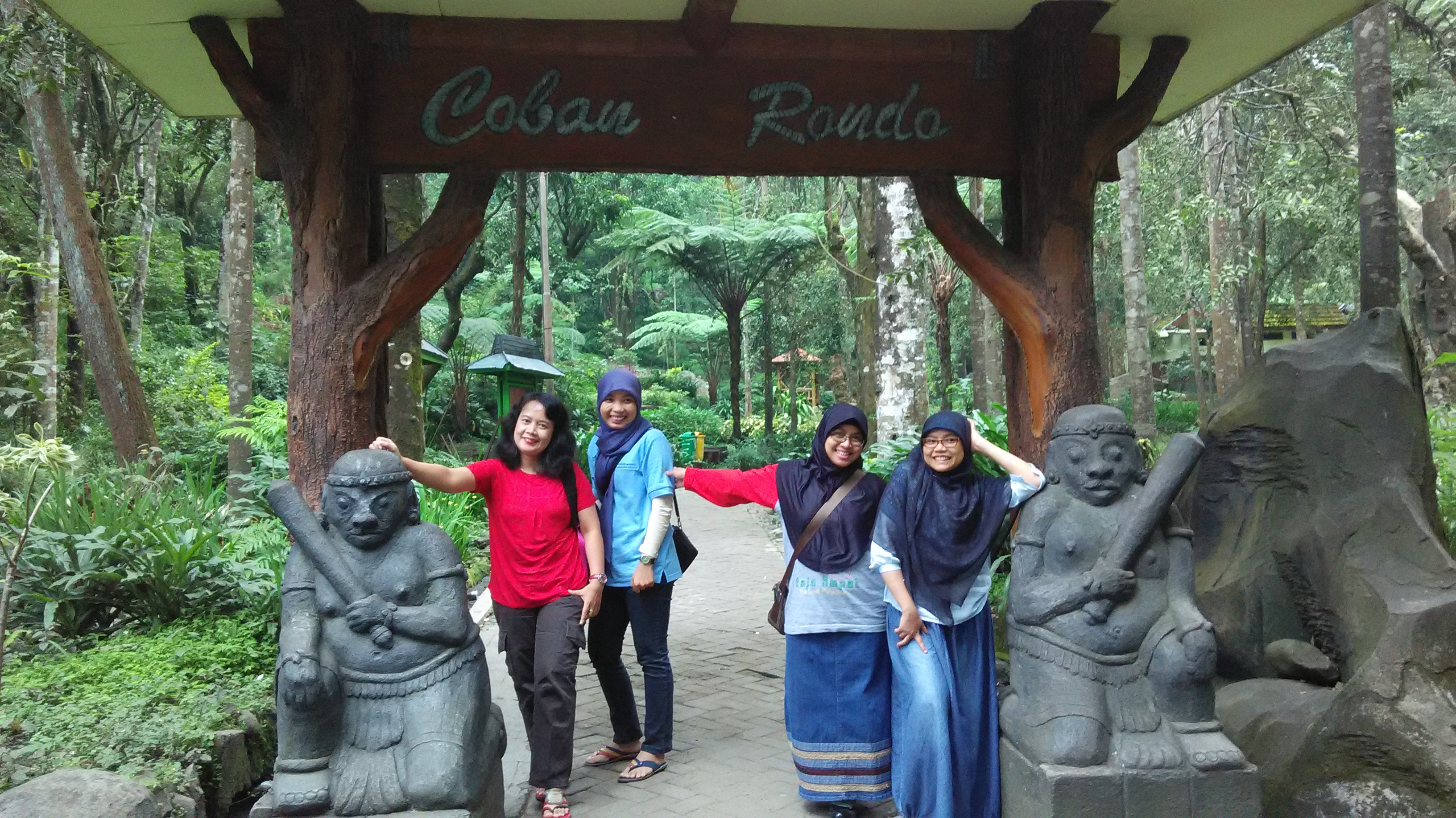 Coban Rondo Waterfall And Its Legend Sketchmytrip Com